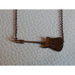 collier acier gun ZAG guitare