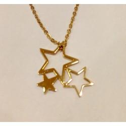 Collier Zag 3 étoiles