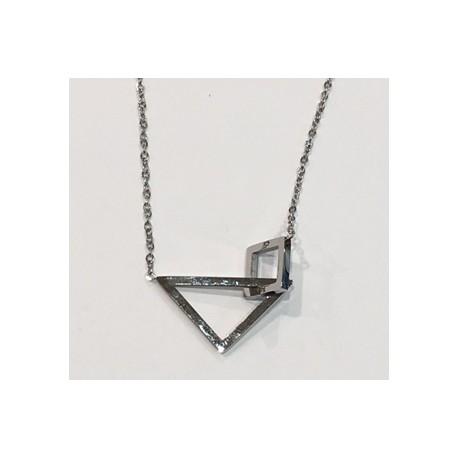 Collier forme géométrique