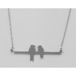 Collier petits oiseaux