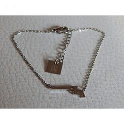 Bracelet acier ZAG pistolet