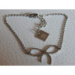 Bracelet acier ZAG noeud