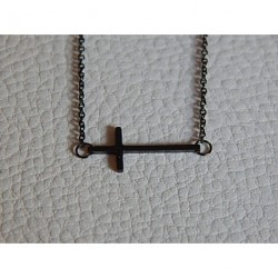 Collier acier gun ZAG croix